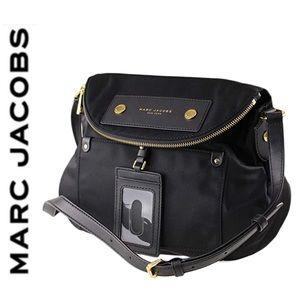 NWT Marc Jacobs preppy large crossbody black